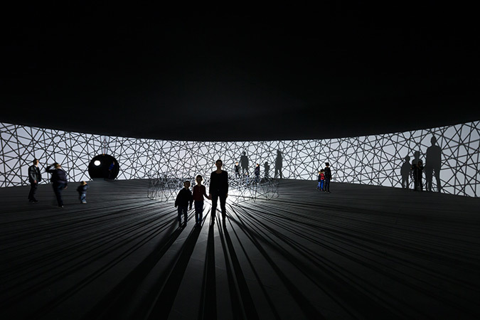 Olafur Eliasson, Map for unthought thought, 2014 - Fondation Louis Vuitton, Paris, France - Photo : Iwan Baan