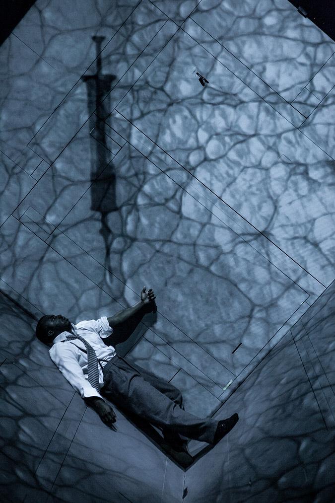 Wellesley Robertson III, Les aiguilles et l'opium - Robert Lepage, 2013 © Nicola Frank Vachon