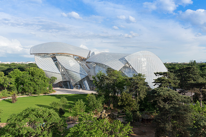 Fondation Louis Vuitton, Paris, France - Architecte : Frank Gehry - Photo : Iwan Baan, 2014