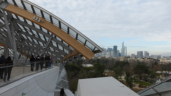 Fondation Louis Vuitton, Paris, France - Architecte : Frank Gehry - Photo : Vincent Laganier