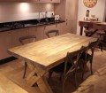 Classic 10ft Rustic Farmhouse Table Adding A Touch Of Class To Your Home