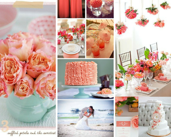 Bodas Color salmon
