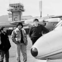 Quel giorno che Maradona (e gli Abbagnale) atterrò all'aeroporto di Villanova d'Albenga