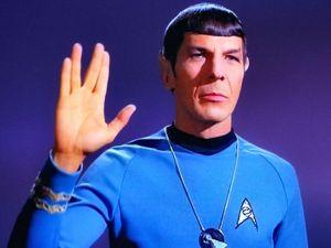 Addio dottor Spock