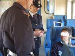 treni controlli polizia