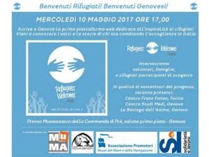 Mercoledì 10 si terrà la presentazione del progetto Refugees Welcome