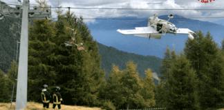 aereo ultraleggero caduto valtellina