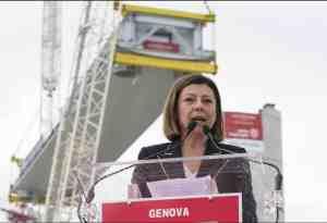 Paola De Micheli ministro Infrastrutture