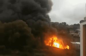 incendio autostrada A10
