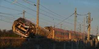 treno deragliato Lodi, frecciarossa