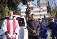 serra Riccò processione San Rocco
