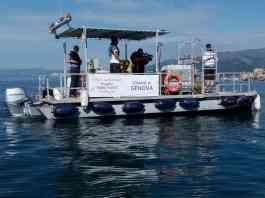raccolta rifiuti in mare