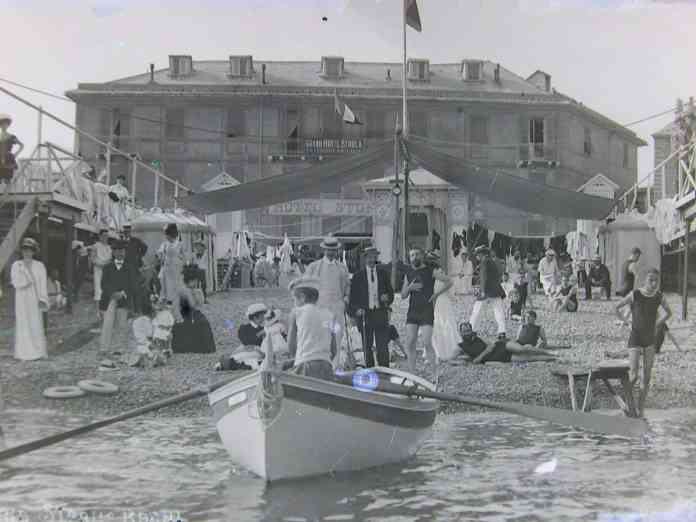 Sturla foto storica spiaggia
