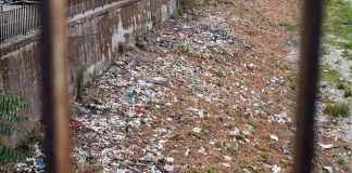 plastica Bisagno torrente