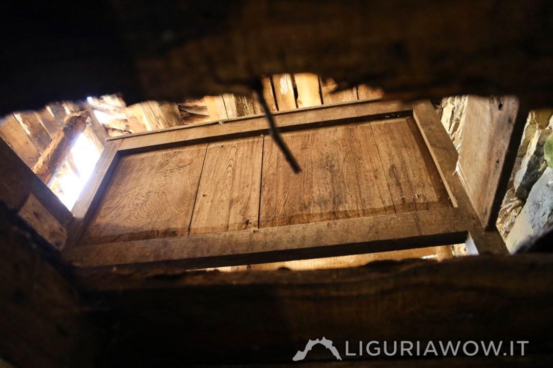 Il letto in una casa a Poilarocca
