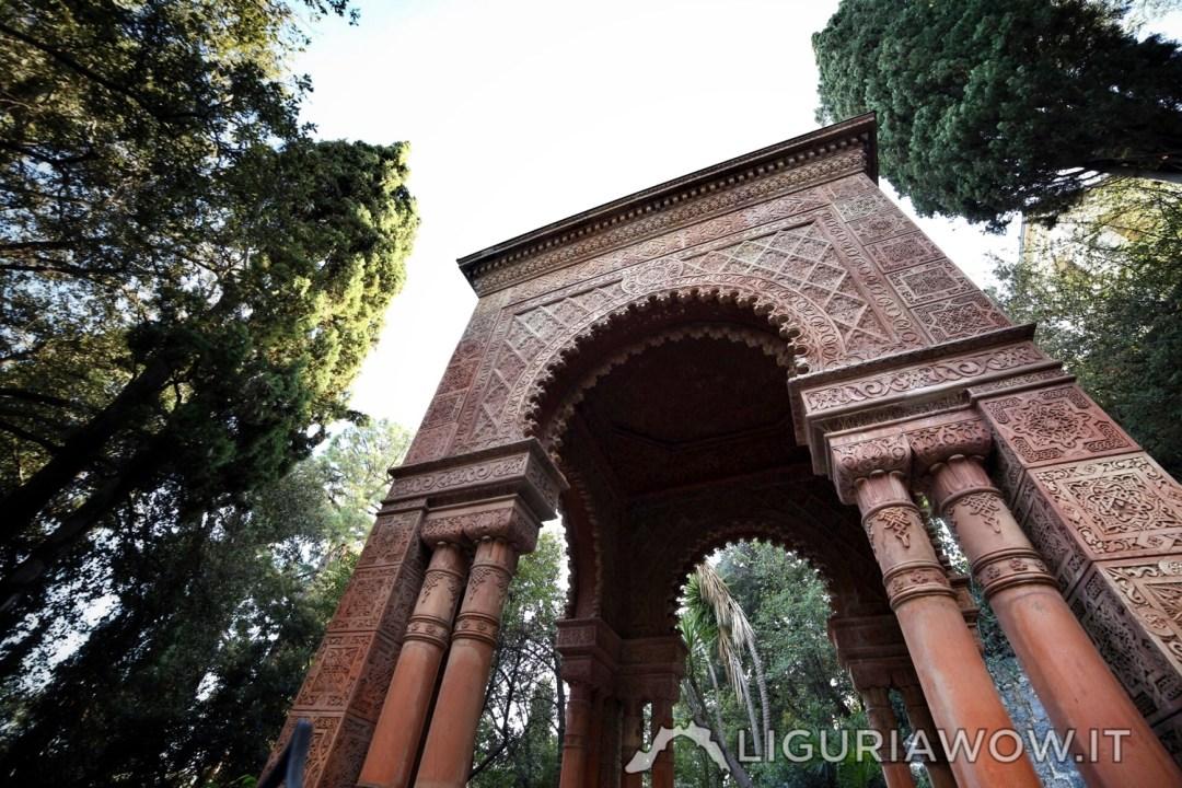 Mausoleo Moresco Giardini Hanbury Google Street View Trekker