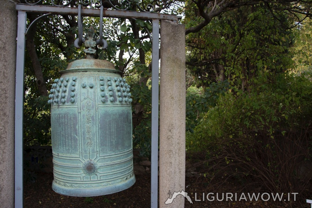 Campana Giapponese Giardini Botanici di Villa Hanbury