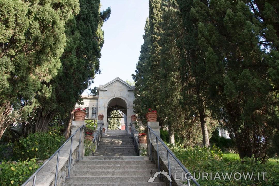 Portale ingresso dei Giardini Hanbury