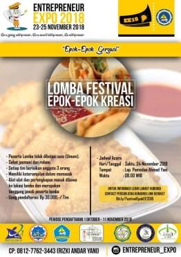 Lomba Festival Epok-Epok Kreasi