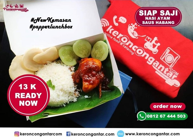 Keroncongantar Online Food Delivery Pekanbaru Riau