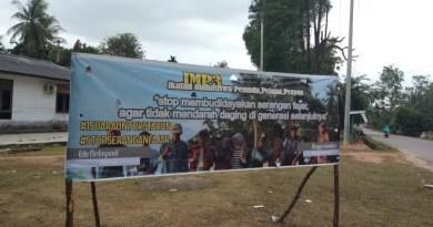 IMP3 Pasang Spanduk Stop Serangan Fajar di Kundur