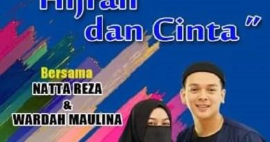 """Talkshow Inspiratif """"Hijrah dan Cinta"""" Natta Reza dan Wardah Maulina"""