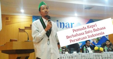 Bertanya Kepri dimana ?, Berbahasa Satu Bahasa Persatuan Indonesia