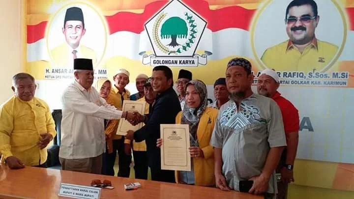 Ketua Gapensi Kabupaten Karimun Maju Pilkada Karimun 2020