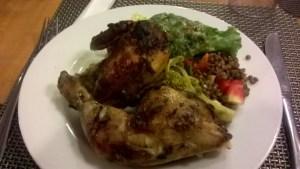 Roast Chicken & Salad