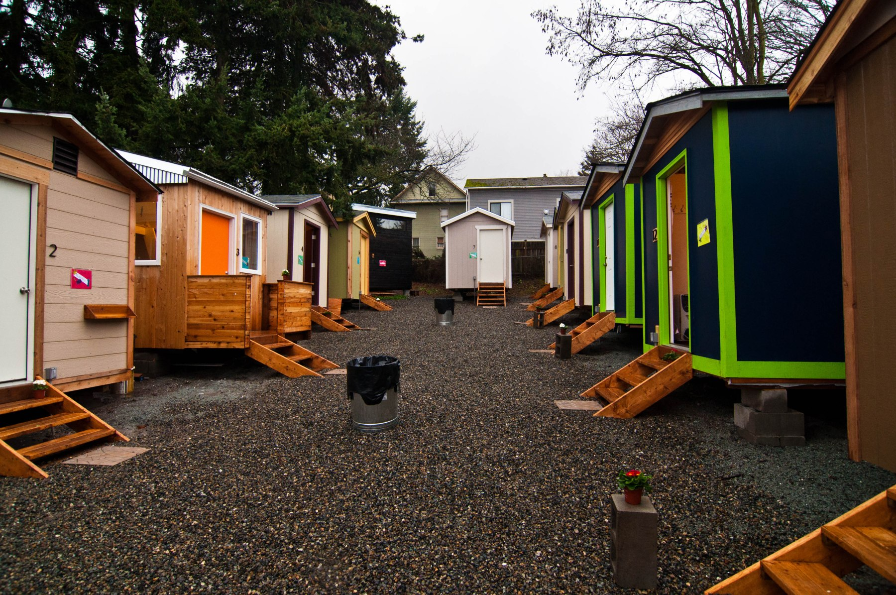 Tiny House Village Low Income Housing Institute