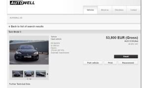Autowell müügikuulutus portaalis mobile.de