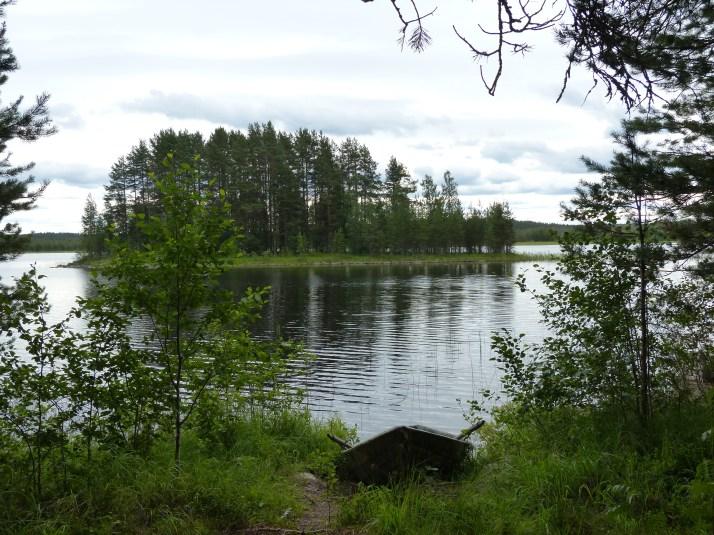 Kultajärvi Pohjois-Karjalassa