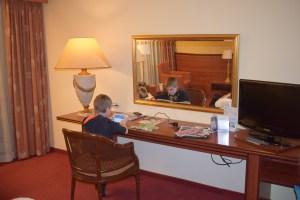 Overnachten hotel moeder zoon