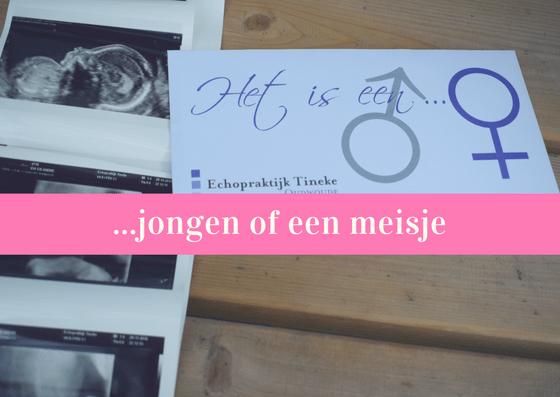 jongen of een meisje