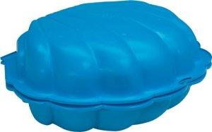 zandbak blauw schelp