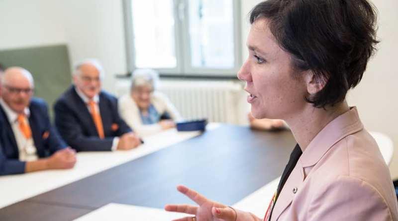 Burgemeester Irina De Knop op plaats 5 voor het Vlaams parlement