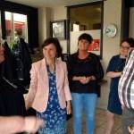 Gwendolyn Rutten op bezoek in Lennik