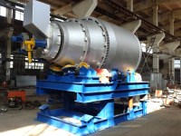 Tilting Rotary Furnace for lead acid battery recycling