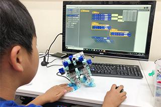 LiKロボットプログラミング教室荒川遊園前校ロボットプログラミング教室レッスン風景