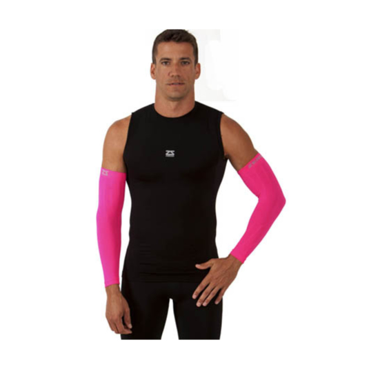 Compression Arm Sleeves - Neon Pink m