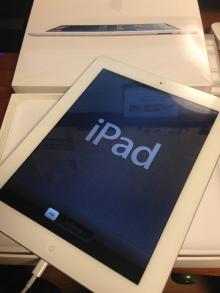 iPad Retinaディスプレイモデル購入