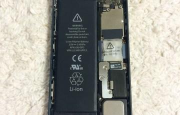 iPhone5/5Sのバッテリーを自分で交換する方法