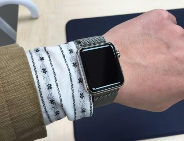 Apple Watch38 試着10