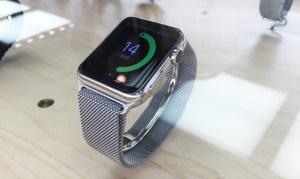 Apple Watchを試着しました!ミラネーゼループ38mmと42mmの比較と感想