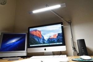 【レビュー】Macに合ってカッコいいアーム型LEDデスクライト「Z-LIGHT」