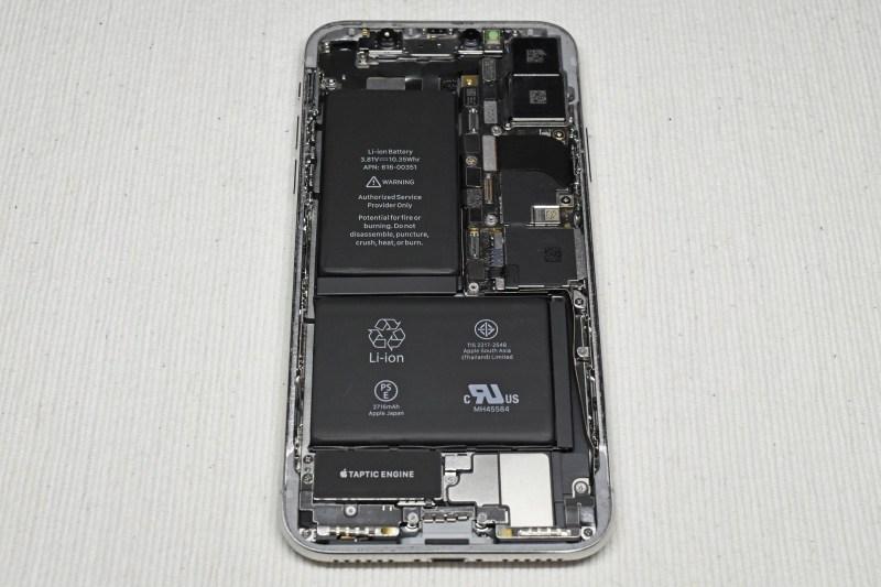 Iphone x battery exchange 1