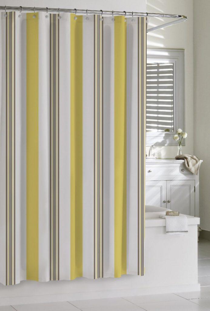 10 cortinas primaveris para alegrar a sua casa de banho