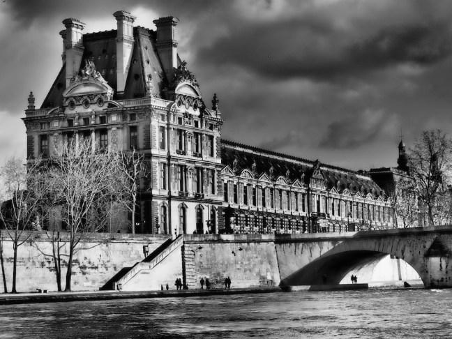 Louvre, Seine