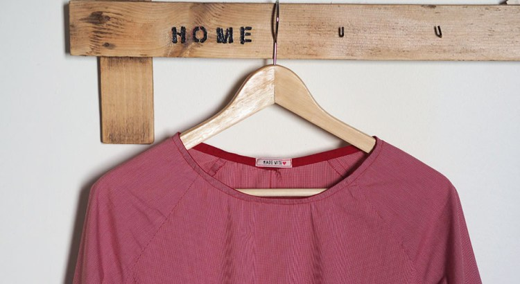 Blouse Marthe rouge