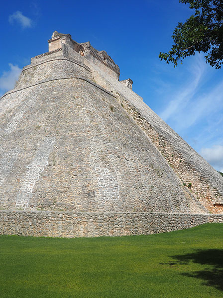 Pyramide Uxmal Mexique